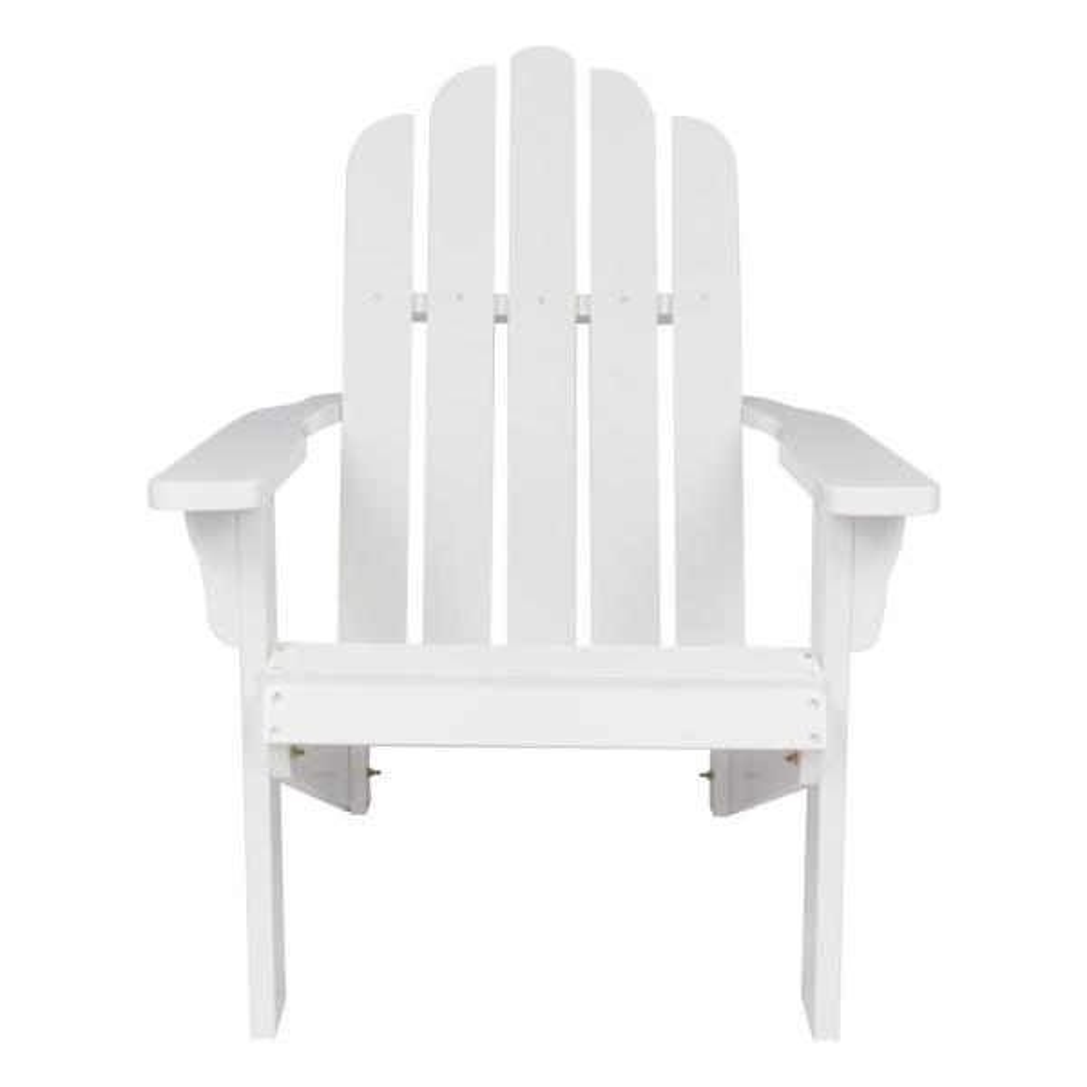 Heavy Duty Sun Lounger, Shine Company Marina White Cedar Wood Adirondack Chair 4618wt The Home Depot