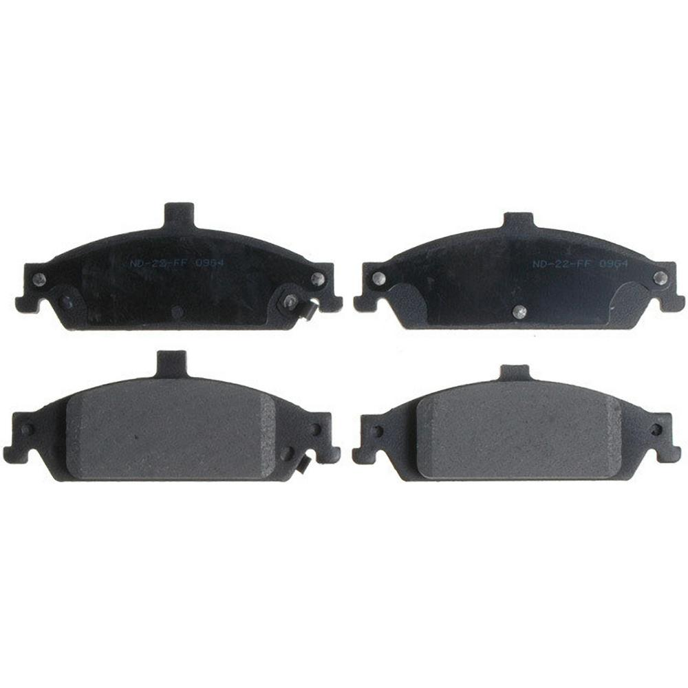 Disc Brake Pad Set-Service Grade Ceramic Disc Brake Pad Front Raybestos SGD727C
