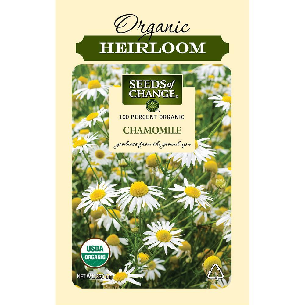 Organic German Chamomile Flower Seeds
