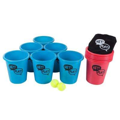 Bucket Ball Giant Pong Outdoor Game Set