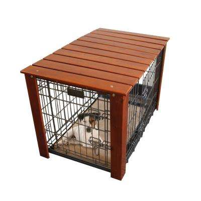 36 in. x 23 in. x 25 in. Large Wood Crate Cover for 700 Series Large Crate (Crate Not Included)