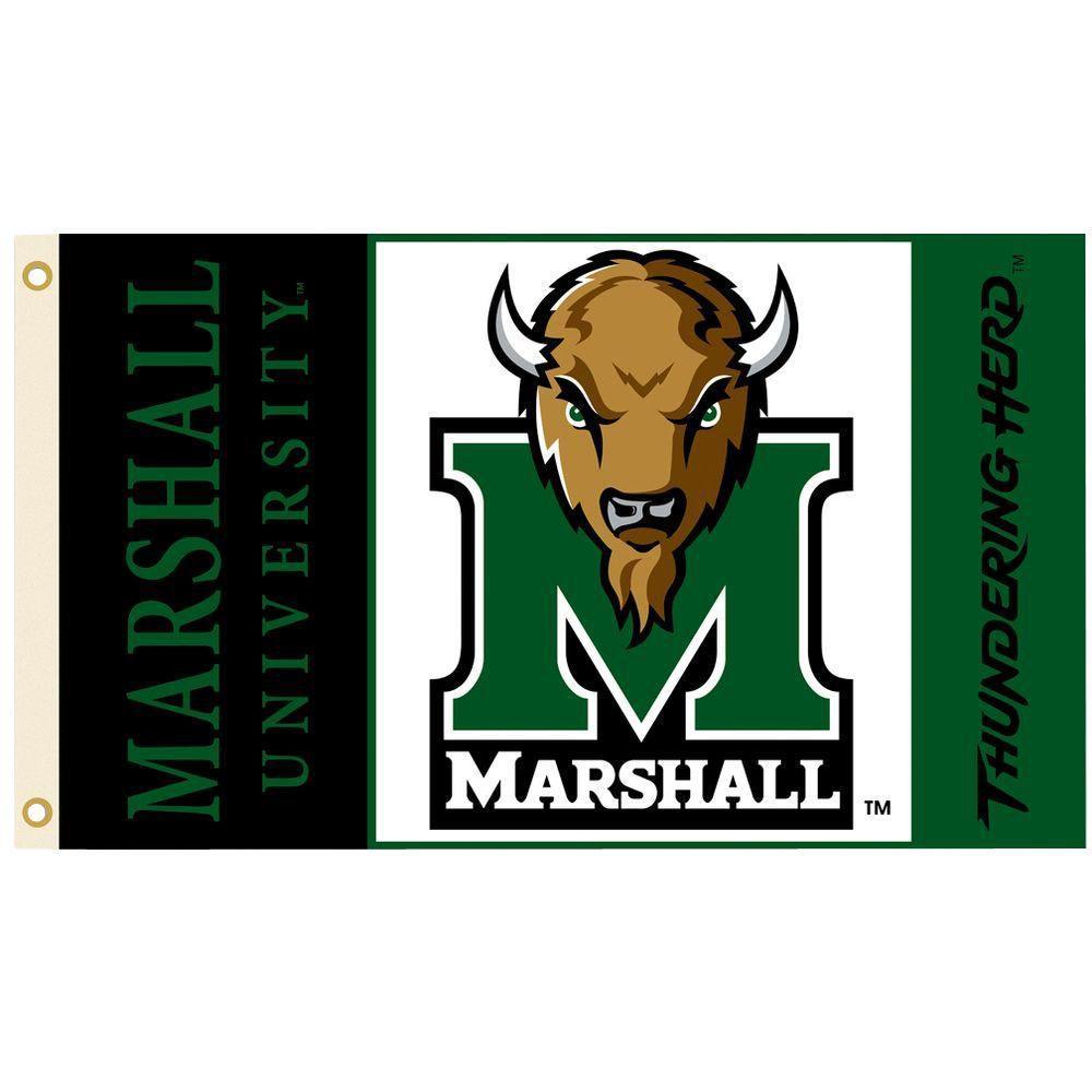 BSI Products NCAA 3 ft. x 5 ft. Marshall Flag