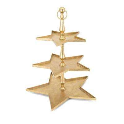 Christmas Gold Star 3 Tier Server
