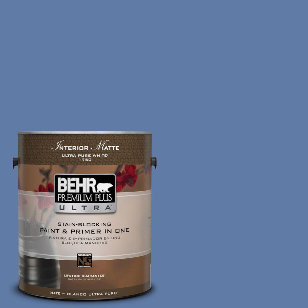 1 gal. #M540-6 Miracle Elixir Matte Interior Paint