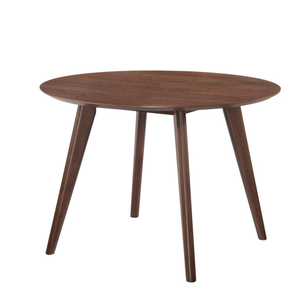 Walnut Kitchen Table: Rosie Light Walnut Dining Table-DRB500DT
