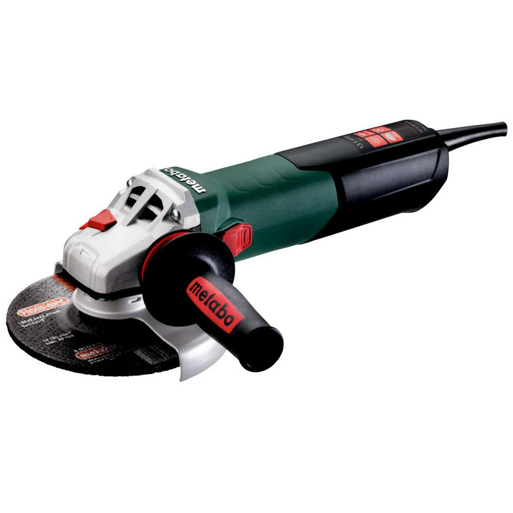 Metabo 13.5 Amp Corded 6 in. WE 15-150 Quick Angle Grinder