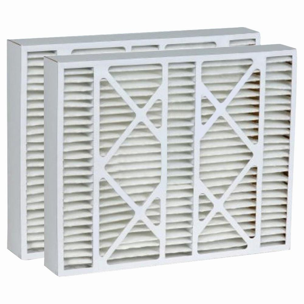 ReplacementBrand 20 in. x 25 in. x 5 in. Micro Dust Merv 13 Replacement for Lennox Air Filter (2-Pack)