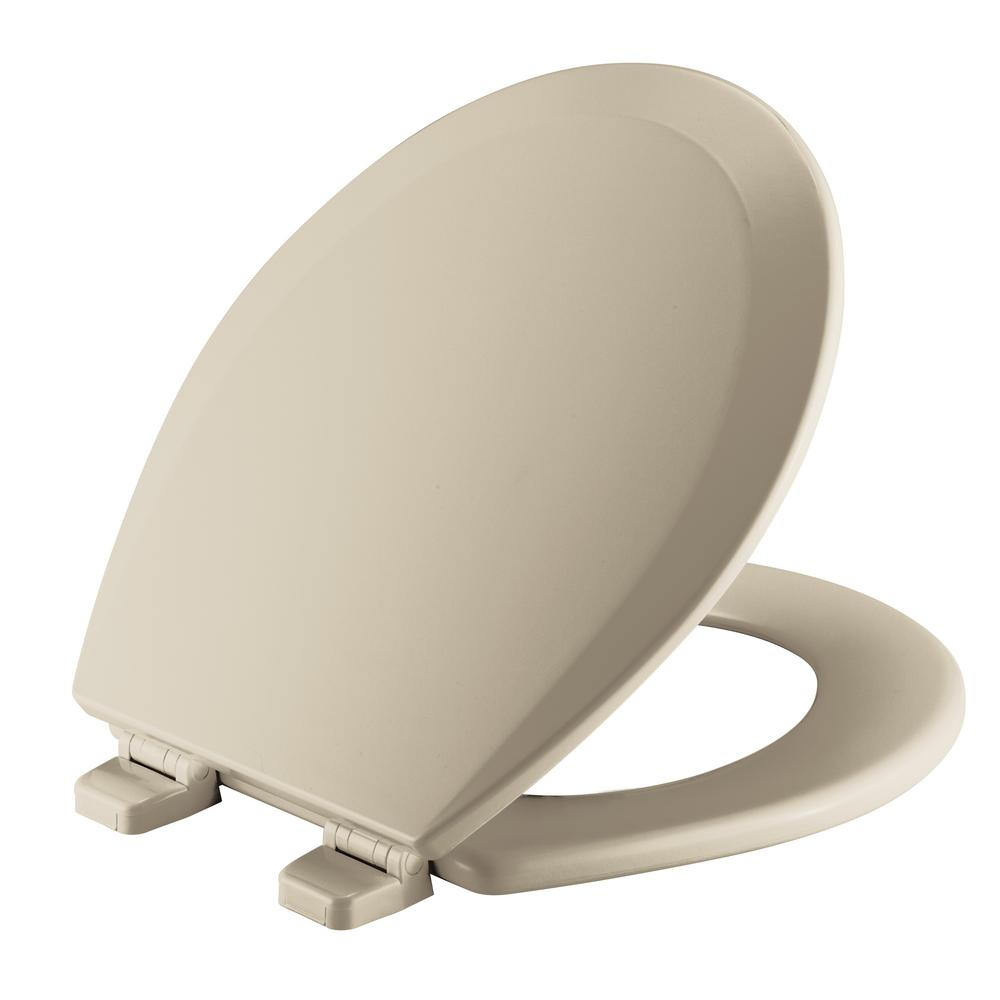 Church Round Closed Front Toilet Seat In Bone 540ttt 006