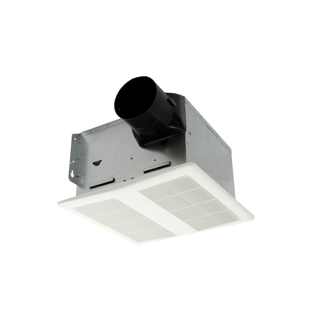 140 CFM DC Motor Ceiling Bathroom Exhaust Fan with Speed Control,