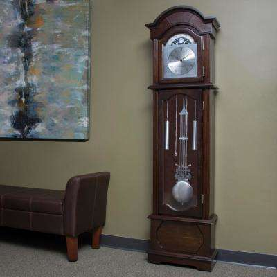 72 in. Espresso Grandfather Clock