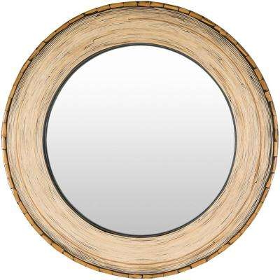 Mea 31 in. x 31 in. MDF Framed Mirror