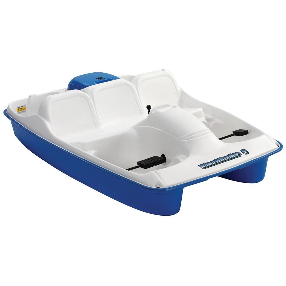 null Water Wheeler MK5 Stainless Steel 5-Person Pedal Boat