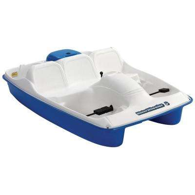 Water Wheeler MK5 Stainless Steel 5-Person Pedal Boat