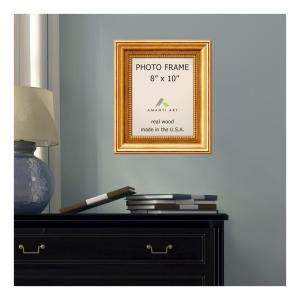 Amanti Art Townhouse 8 inch x 10 inch Gold Picture Frame by Amanti Art