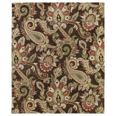 Helena Odyusseus Chocolate 10 ft. x 14 ft. Area Rug