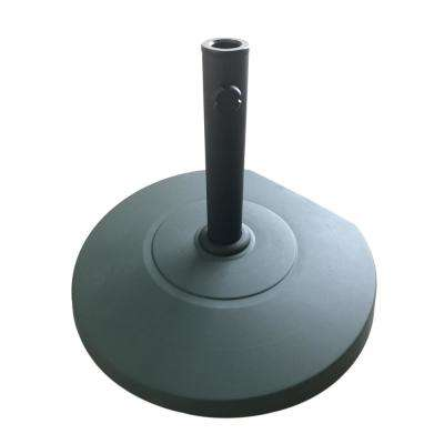 Achill 62.06 lbs. Concrete Patio Umbrella Base in Dark Green