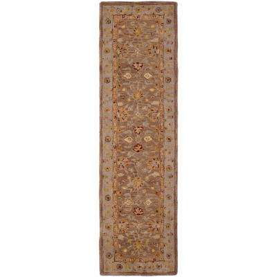 Anatolia Tan/Ivory 2 ft. x 18 ft. Runner