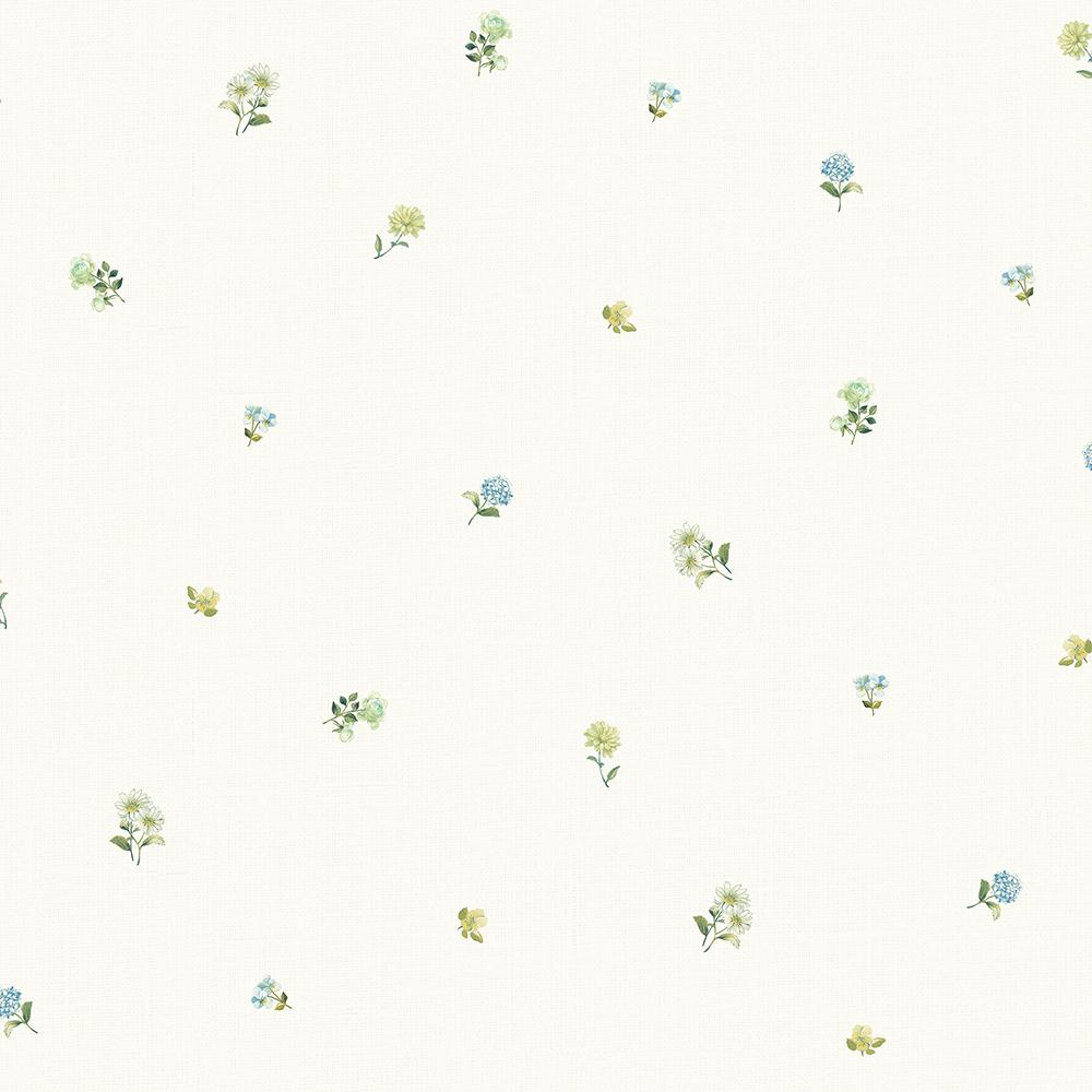 Chesapeake 56 4 Sq Ft Bloom Toss Blue Floral 3117 21694 The