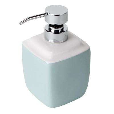 Modena Freestanding Lotion Dispenser in Blue