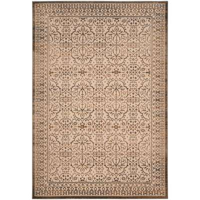 Brilliance Cream/Bronze 8 ft. x 10 ft. Area Rug