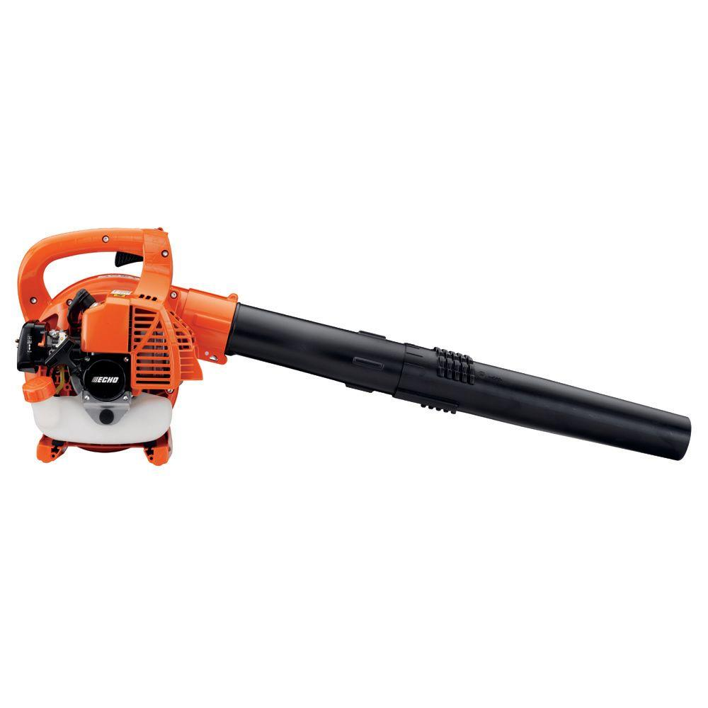 165 MPH 391 CFM 25.4cc Low Noise Handheld Gas Leaf Blower