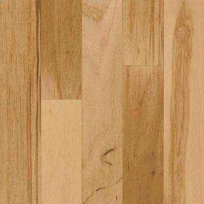 Take Home Sample - Hickory Rustic Natural Click-Lock Hardwood Flooring - 5 in. x 7 in.