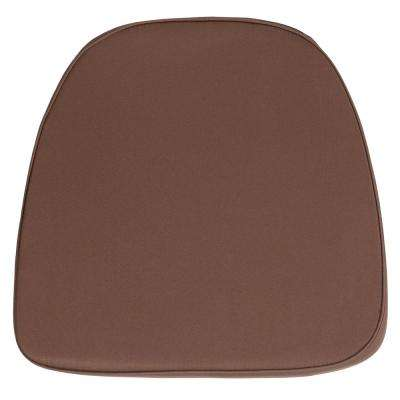 Soft Brown Fabric Chiavari Chair Cushion