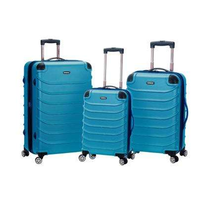 Dublin Collection 3-Piece Harside Dual Spinner Luggage Set, Grey