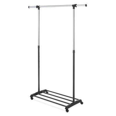 Deluxe 36.2 in. x 68 in. Adjustable Garment Rack