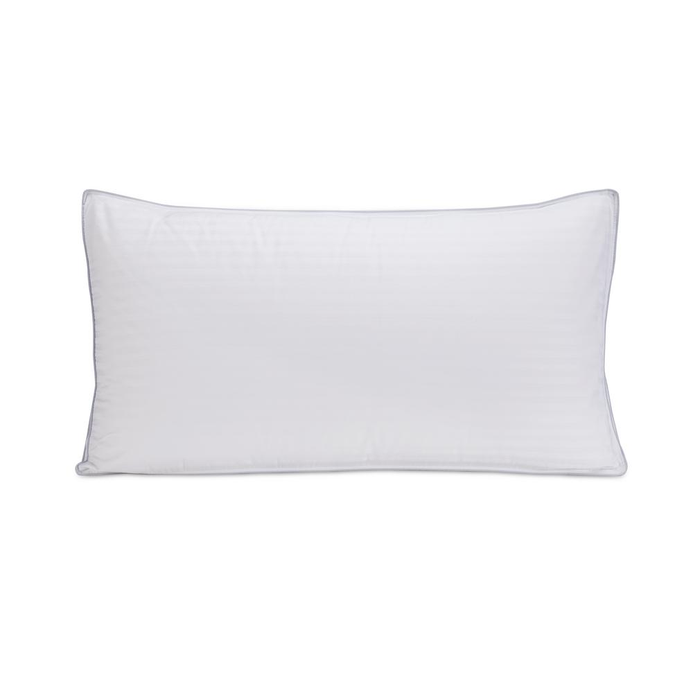 Ultra-Down Medium Down King Size Pillows with Protector (Set of 2)