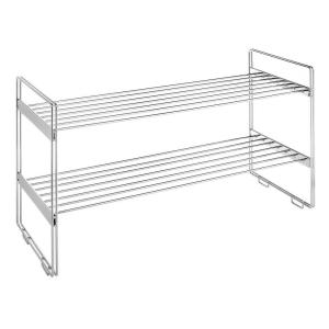 Whitmor Supreme Shelving Collection 30 In. X 16.63 In. Stackable Closet  Shelves 6175 861   The Home Depot