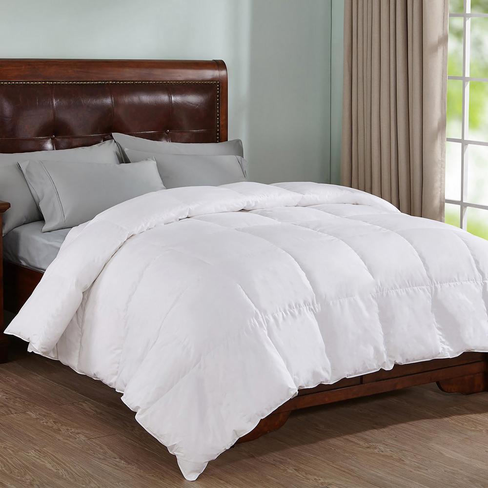 Peace Nest Natural White King Down Comforter