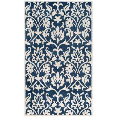 6 X 9 - Water Resistant - Blue - Outdoor Rugs - Rugs - The Home Depot