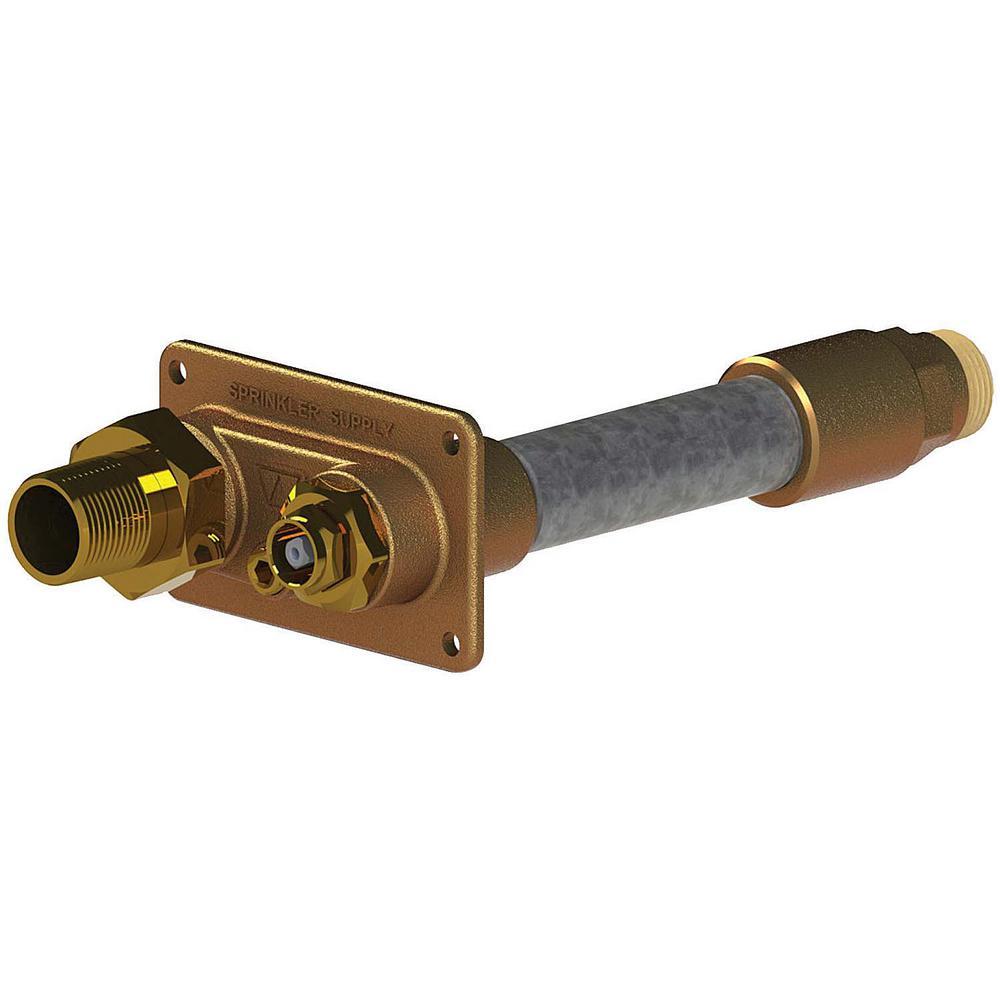 3/4 in. FSWT x 4 in. L Freezeless Model 32 Lawn Sprinkler Wall Hydrant