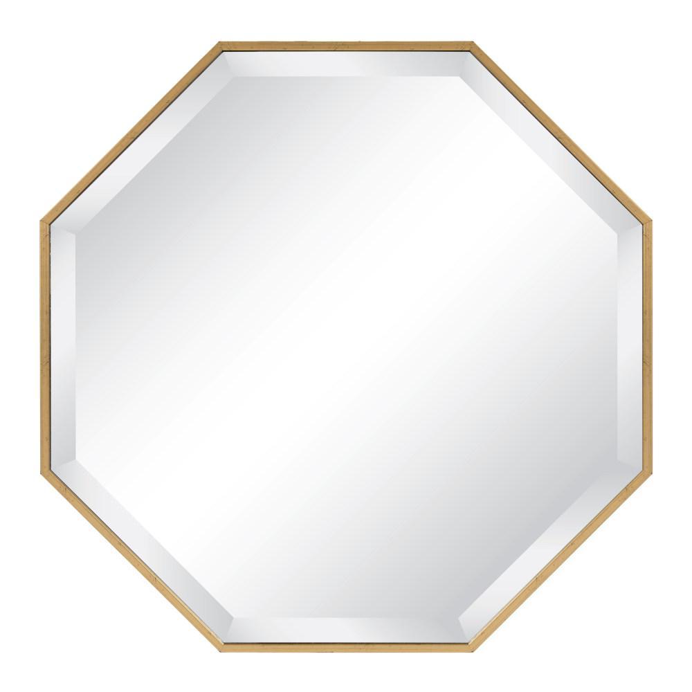 Rhodes Octagon Gold Mirror