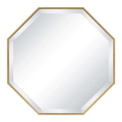 Rhodes Octagon Gold Mirror