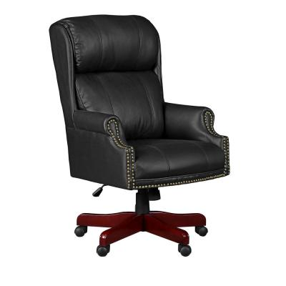 Barrington Black Swivel Chair