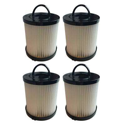 Filters Washable and Reusable Replacement for Eureka DCF21 Part 67821, 68931 and EF91 (4-Pack)
