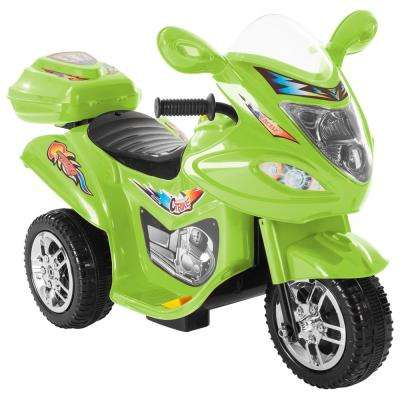 Battery Operated Trike Motorcycle Ride On Toy Green