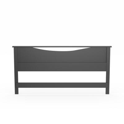 Step One King-Size Headboard in Pure Black
