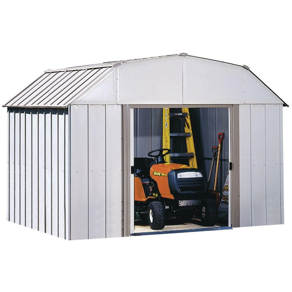 Arrow Dakota 10 ft. x 8 ft. Steel Shed-DK108 - The Home Depot