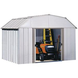 Click here to buy Arrow Dakota 10 ft. x 8 ft. Steel Shed by Arrow.