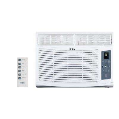 10,000 BTU 115-Volt Window-Mounted Air Conditioner and Magnetic Remote with Braille
