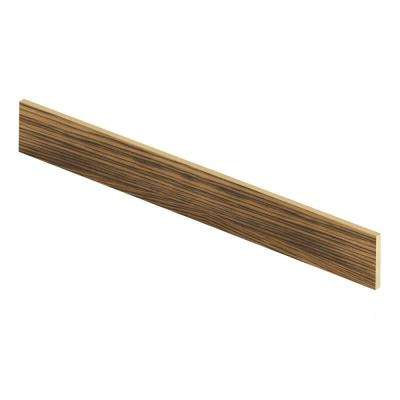Smoked Hickory 47 in. Length x 1/2 in. Deep x 7-3/8 in. Height Laminate Riser to be Used with Cap A Tread