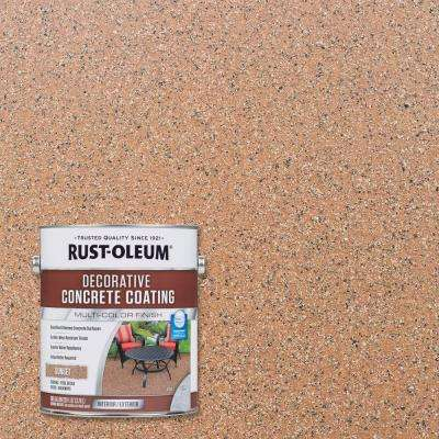 1 gal. Sunset Decorative Concrete Exterior Solid Stain (2-Pack)