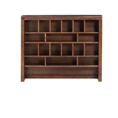 Craft Space 32 in. x 42 in. Sequoia 18-Cubbie Apothecary Hutch