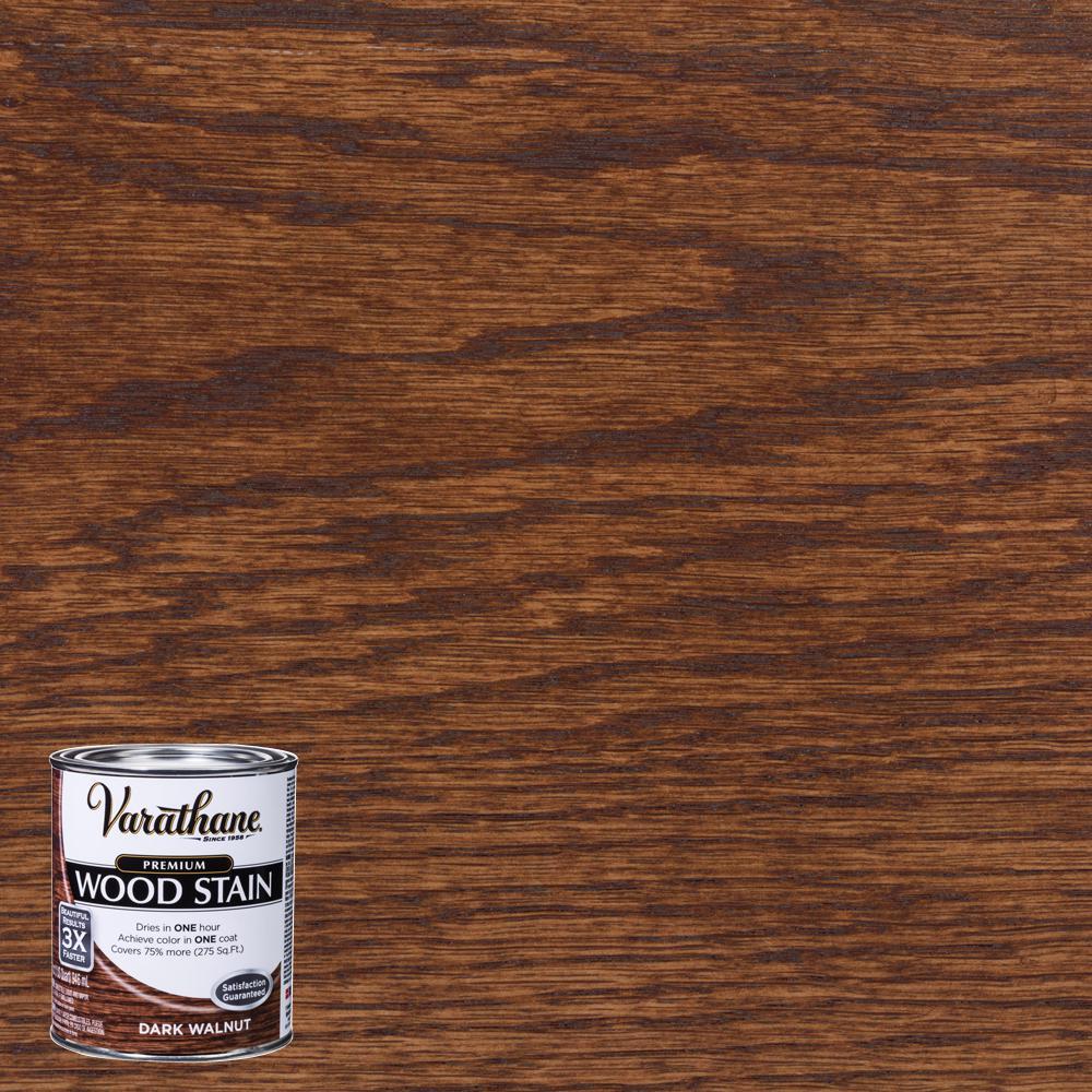 Varathane 1 Qt Dark Walnut Premium Fast Dry Interior Wood