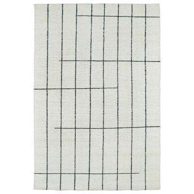 Solitaire Ivory 2 ft. x 3 ft. Area Rug
