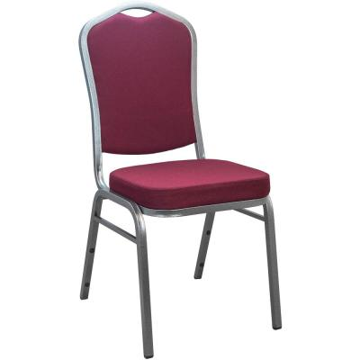 Maroon Fabric Crown Back Banquet Chair Set Of 25