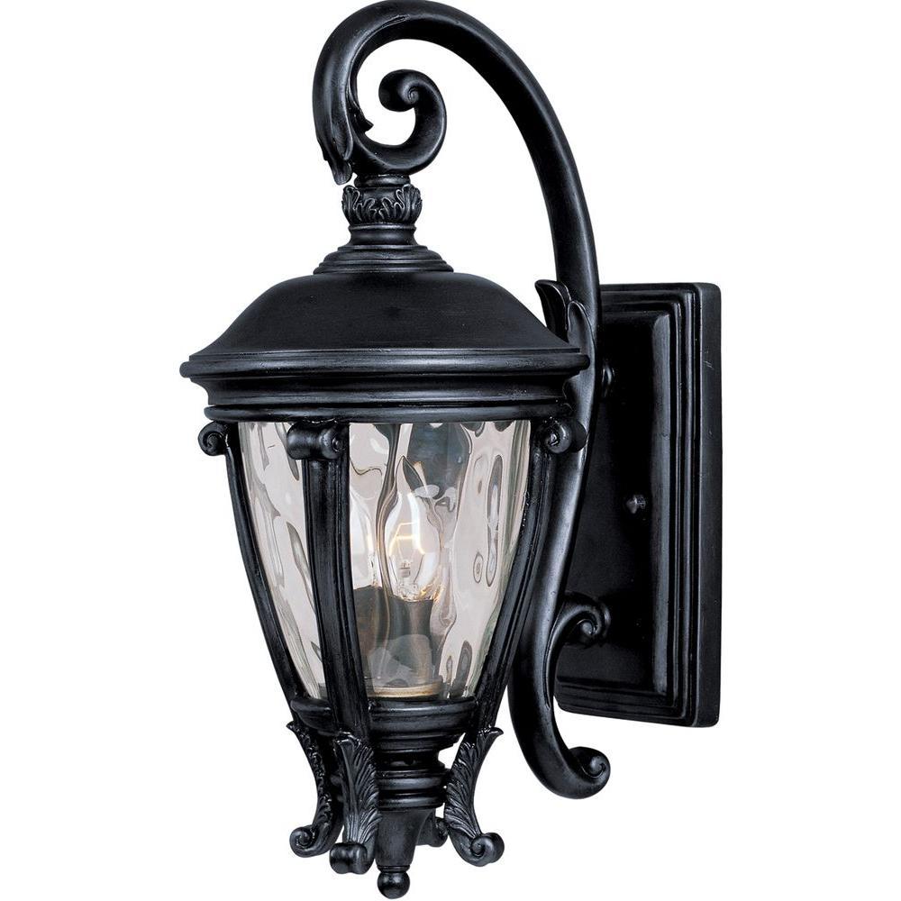 Camden Vivex 2-Light Black Outdoor Wall Lantern Sconce